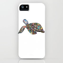 Colourful Turtle iPhone Case