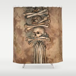 Sedlec X Shower Curtain