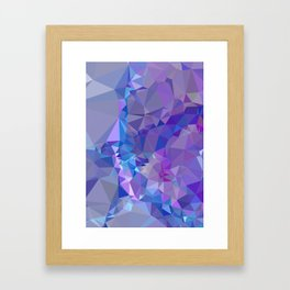 Abstract mosaic pattern Framed Art Print