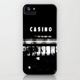 Black & White-Casino iPhone Case