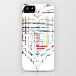 The System - heart iPhone Case