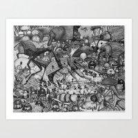 Insectopia Art Print