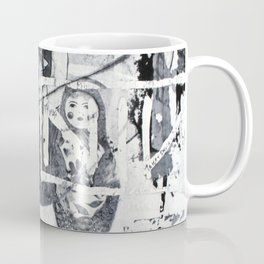 Russian Graffiti on the Arbat Coffee Mug