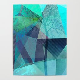 P19-B-4 Trees and Triangles Poster