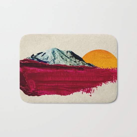 nature anthem Bath Mat