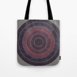 Circles Abstract Tote Bag