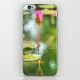 Pink Flower iPhone Skin