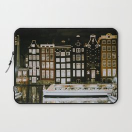A Night in Amsterdam Laptop Sleeve
