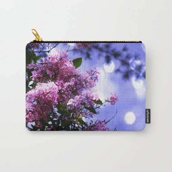 Lilac Sparkle Carry-All Pouch