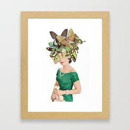 Looking Fly Framed Art Print