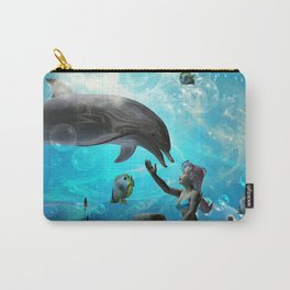 Cute mermaid  Carry-All Pouch