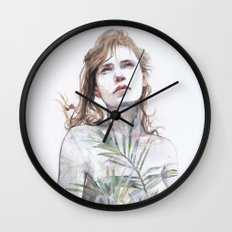 Breathe in, breathe out Wall Clock