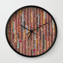 Filmscape I Wall Clock