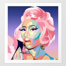 Barbie Tingz Art Print