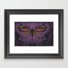 Basic Butterfly Framed Art Print