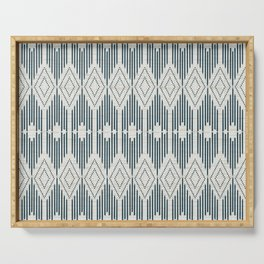 West End - Linen Serving Tray