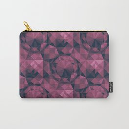 Inner Diamond – Shades of Rose Carry-All Pouch