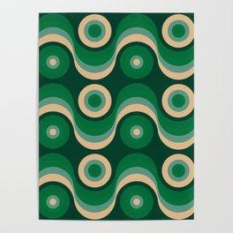 70s Optical Wallpaper Poster
