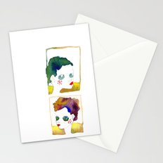 no name but a frame Stationery Cards