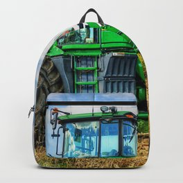 Green Tractor Backpack