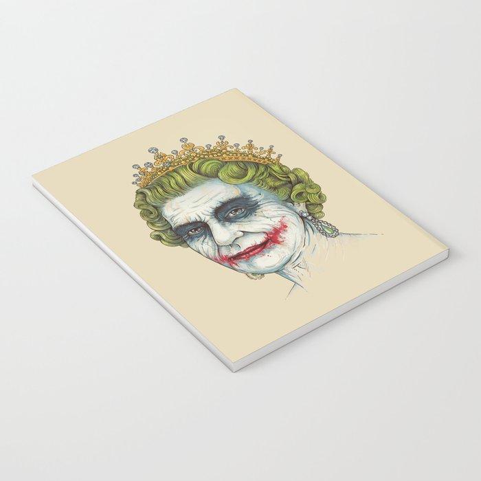 God Save the Villain! Notebook