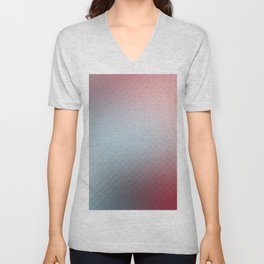 Pixels pixelated art Unisex V-Neck