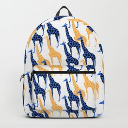 Giraffes march Backpack