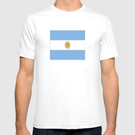 Flag of argentina -Argentine,Argentinian,Argentino,Buenos Aires,cordoba,Tago, Borges. T-shirt