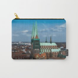Church in the city Lübeck Germany Carry-All Pouch