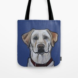 Huckleberry the yellow lab Tote Bag