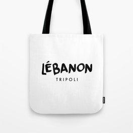 Tripoli x Lebanon Tote Bag