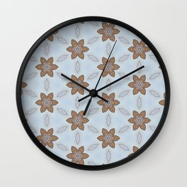 Flower Abstract Wall Clock