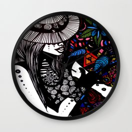 Expansive Resting Ground  Wall Clock