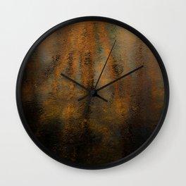 Late Autumn Wall Clock