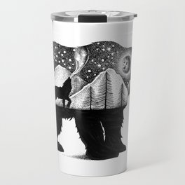 THE BEAR AND THE WOLF Travel Mug