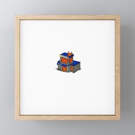 Fire to the Feds! Framed Mini Art Print