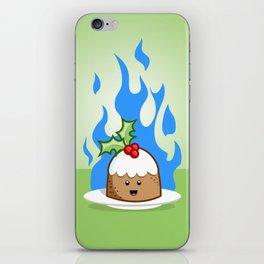 Flaming Pudding iPhone Skin