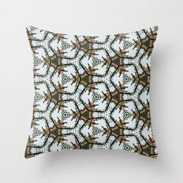 Desert Christmas Throw Pillow