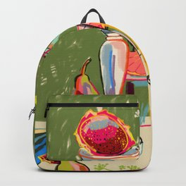 STILL LIFE WITH DRAGON FRUIT Backpack