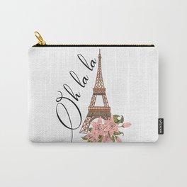 Oh La La Eiffel Tower France Carry-All Pouch