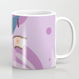 Psychic Steampunk Fox Coffee Mug