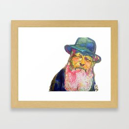 The Rebbe Framed Art Print
