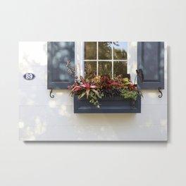 Charleston Flowerbox 89 Metal Print