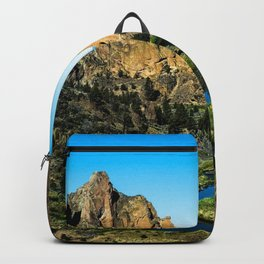 Rocks + River // Hiking Mountains Colorado Scenic View Landscape Photography Forest Backpacking Vibe Backpack