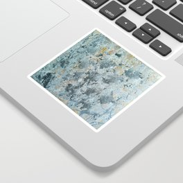 Abstract painting 100 Sticker
