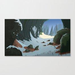 Long Winter Canvas Print
