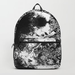 Black Gatria- Abstract Costellation Painting. Backpack