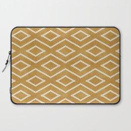 Stitch Diamond Tribal in Gold Laptop Sleeve