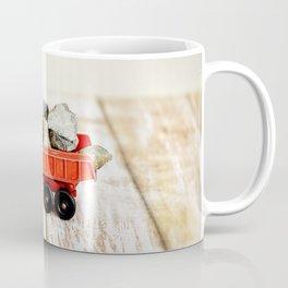 Red Dumptruck Coffee Mug