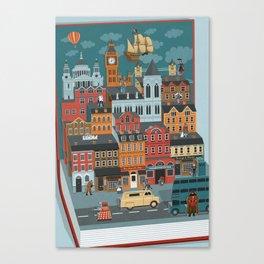 Pop-up London Canvas Print